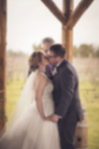 Ottawa Wedding Outdoor Ceremony Jabulani Winery First Kiss