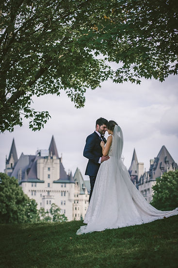 Ottawa Wedding Photography Chateau Laurier