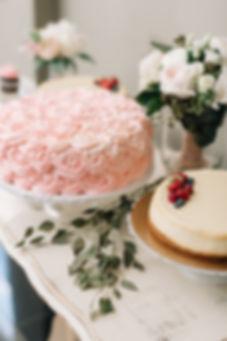 Ottawa Wedding Photography Reception Decor Light Pink Elegant Cake