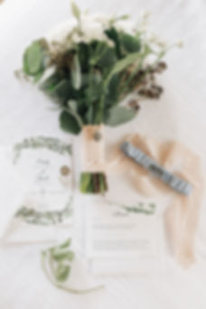 Ottawa Wedding Flatlay Detailed Shot Byfield Pitman