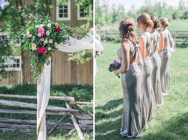 Ottawa Wedding Photography Outdoor Ceremony Stonefields Estate