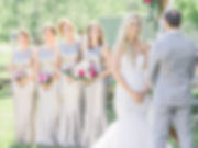 Ottawa Wedding Photography Outdoor Ceremony Stonefields Estate Silver and pink