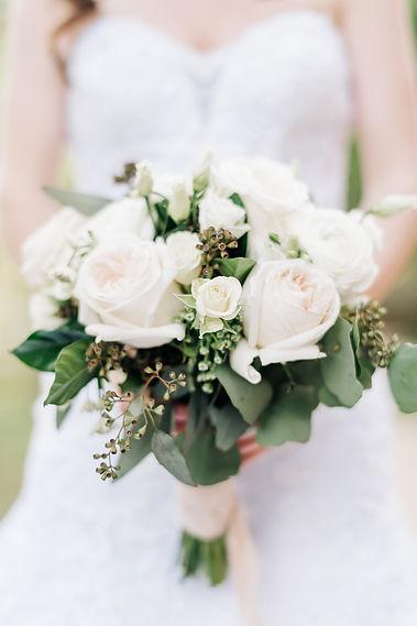 Ottawa Wedding Photography Bridal Neutral Flower Bouquet