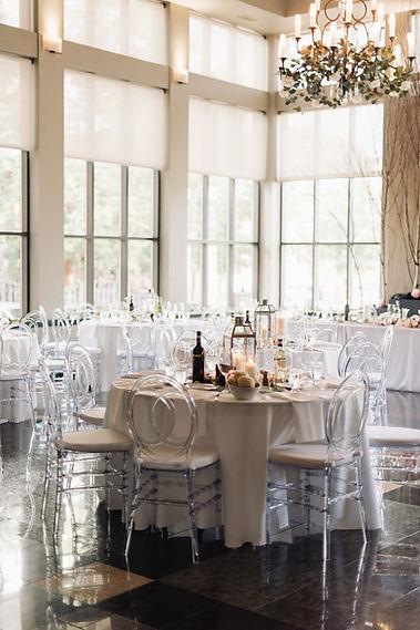 Ottawa Wedding Photography Reception Decoration Neutal Simple Elegant Best Western Parkside Perth