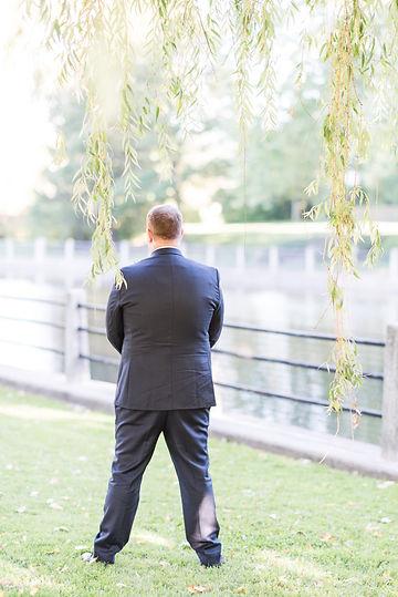 Ottawa wedding photography first look groom