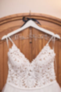 Ottawa Wedding Photography Bridal Gown on Hanger