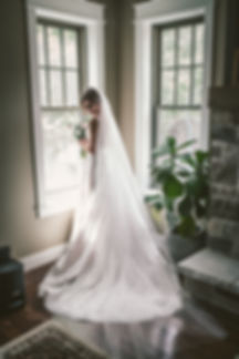 Ottawa Wedding Photography Bride Shot by Window with Florals