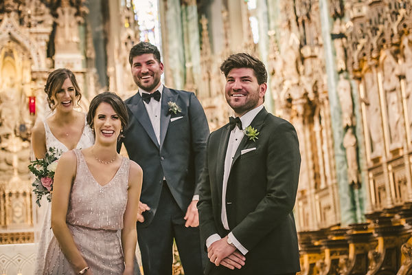 Ottawa Wedding Ceremony Photography Bride an Groom twins