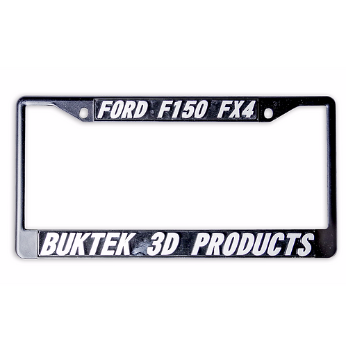 Custom Letter 3D License Plate Frame