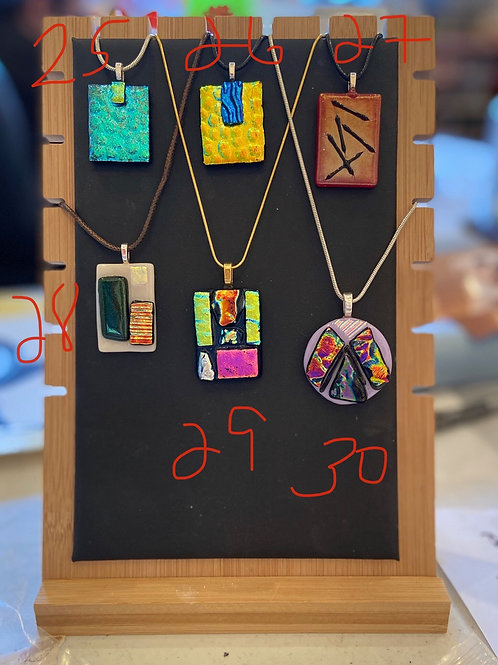 Pendants available #26-30 (please specify the # you purchase)