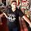 Thumbnail: Black V-Neck Montrose Makers T-shirt