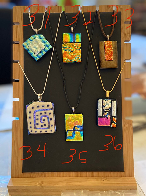 Pendants #31-36 (please specify the # you are purchasing)