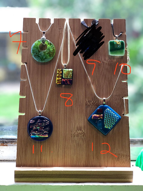 Pendants available #7,8,11, 12 (specify -# desired when placing order)
