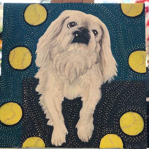 Pet Portrait Painting Class (4 hour course)