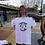 Thumbnail: White Crew Neck Montrose Makers T-Shirt