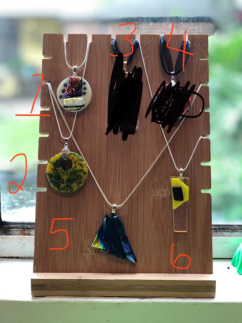 Pendant #1, #2, #5-#7 (specify -# desired when placing order)