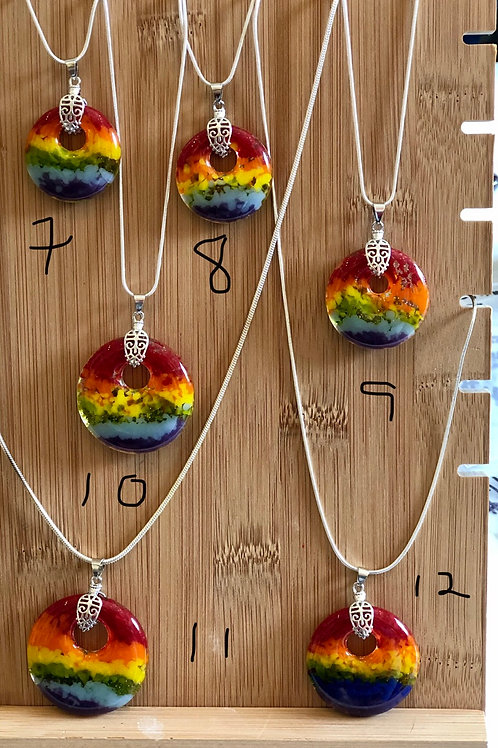 Round Pride Pendants 7-12 (indicate which # you want to purchase)