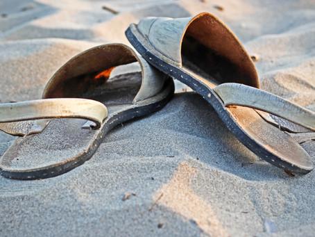 Joy and Sandals