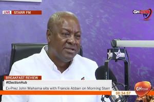 I'm not angry at Samini and Sarkodie for choosing to endorse Akufo-Addo – Mahama clarifies