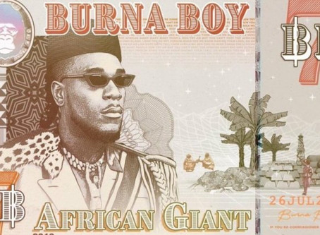 Listen to and download  Burna Boy's New Album 'African Giant'