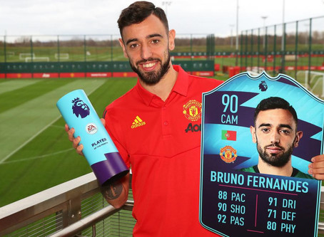 Fernandes wins EA SPORTS Player of the Month two months in a row