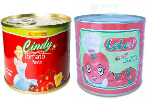 Cindy and Lele Tomato paste recalled from market after detection of risk to health anomaly.