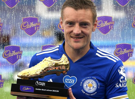 Vardy claims Golden Boot award for first time, ahead of Aubameyang and Danny Ings
