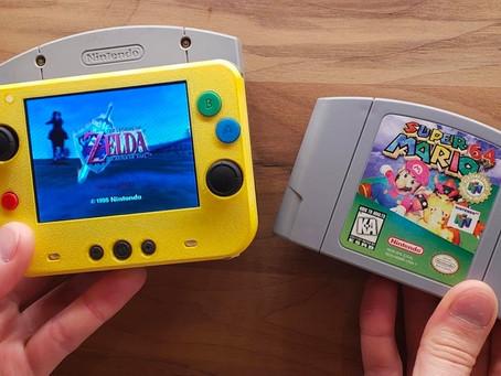 GmanModz Has broken a world record for Creating the World's Smallest Portable Nintendo 64