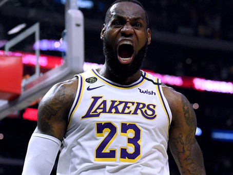 LeBron James Scoring Double-Digit Points for 1,000 Consecutive Games Makes NBA History