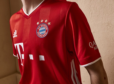 Bayern Munich and adidas Unveils Classic Home Kit for 2020/21