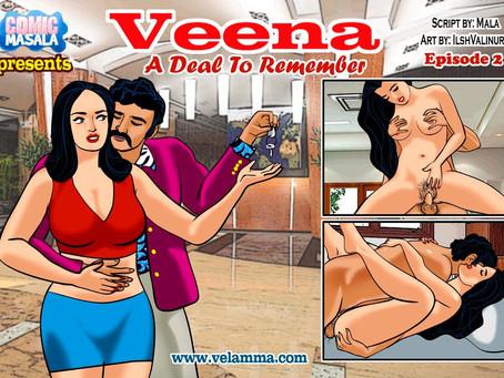 veena indian adult comics episode 2