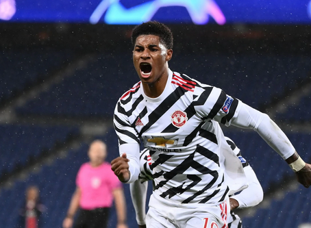 Rashford strikes late to down Psg in Paris, in an emphatic win for Manchester united