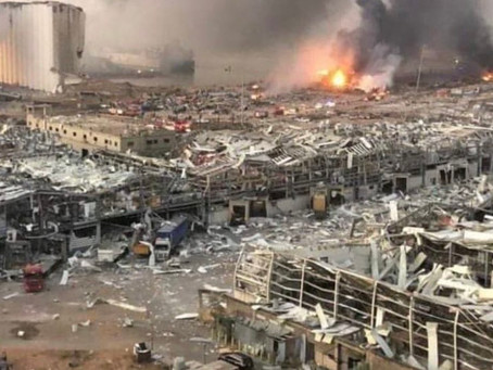 (Watch) Beirut blast: Dozens dead and thousands injured, health minister admits.