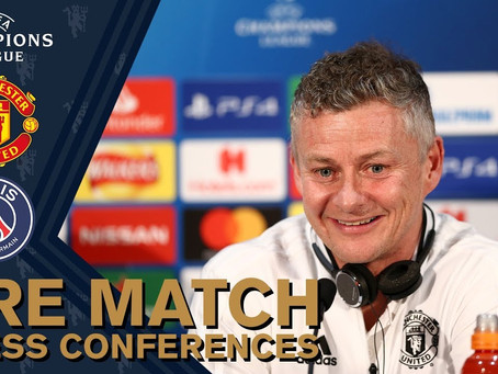 Bruno to captain United in Paris Press Conference PSG v Manchester United Champions League