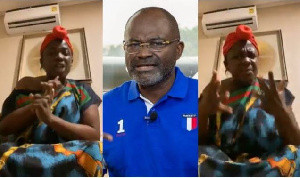 Tracey Boakye Disses Kennedy Agyapong again, threatens to invoke curses on him