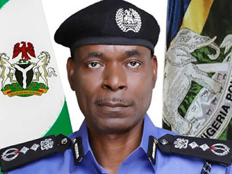 Nigeria's IGP- Dont come to the police station, we are all self isolating from corona virus.