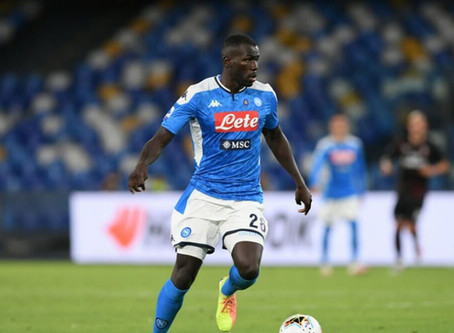 Kalidou Koulibaly reportedly upset with Napoli  after they rejected City's bid.