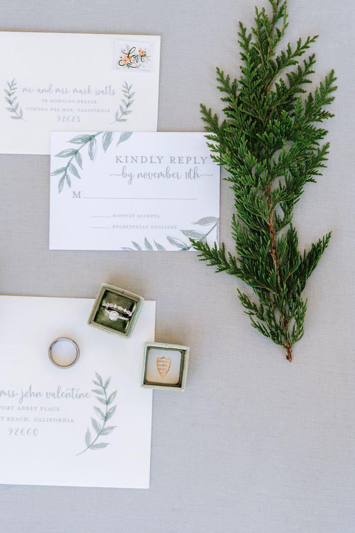 Winter Ranch Wedding Invitations