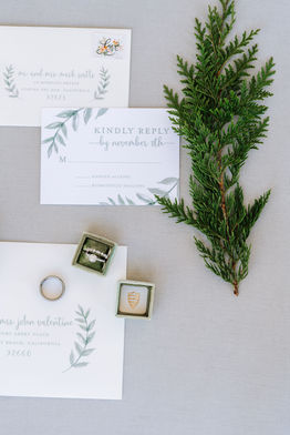 Winter Ranch Wedding Invitations