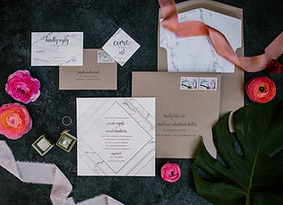 California Dream Wedding Invitations