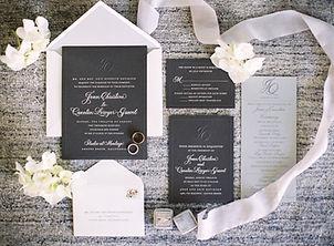 Paris Wedding Invitaions
