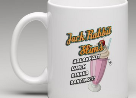 "Jack Rabbit Slims ""Souvenir Mug"" from Pulp Fiction"