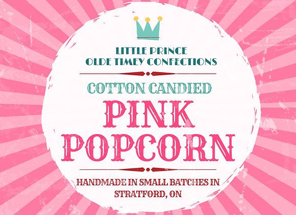 Caramelized Pink Popcorn!