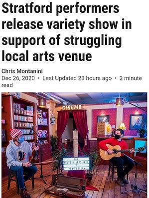 Stratford Beacon Herald Holiday Arts Reel Article.jpg