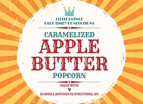 Gourmet Caramelized Apple Butter Popcorn!
