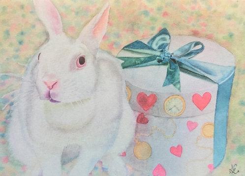 White rabbit birthday