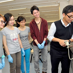 Air-pollution sampling with Prof. Kin-Fai Ho