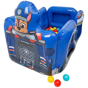 Paw Patrol Chase Vehicle Inflatable Ball Pit