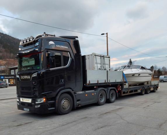 Goldmann transport- Båt