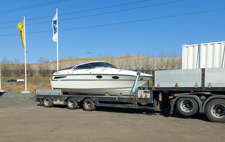 Goldmann transport-båt